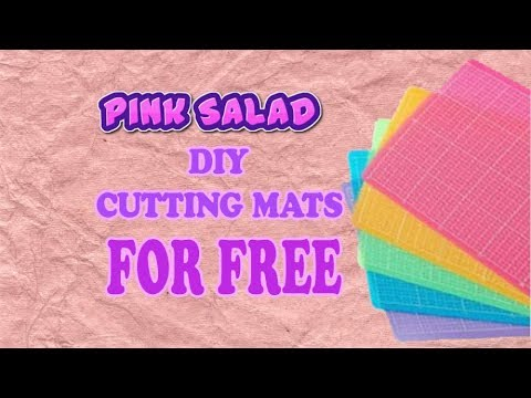 DIY cutting mats for Free