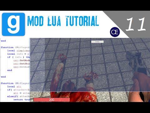 [Gmod] Lua Tutorial 11: Networking