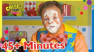 Mr Tumble's Birthday Cake Suprise and More! 🎂🥳   CBeebies +45 Minutes Compilation For Kids