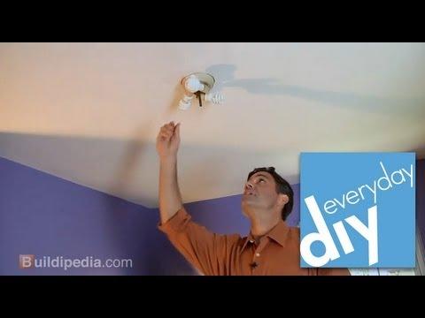 How to Replace a Light Fixture -- Buildipedia DIY