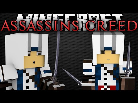 Minecraft | ASSASSINS CREED MOD!!! | Assassin Weapons, Poison, and MORE!! | Mod Showcase [1.8.1]
