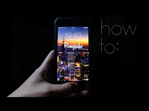 How to create a custom iPhone wallpaper [TUTORIAL]