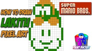 yoshi pixel art grid Videos - 9tube tv