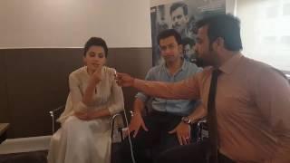 Bollywood Film Naam Shabana Ki Start cast Prithviraj Sukumaran Aur Tapsee Panu Se Khususi Guftagu