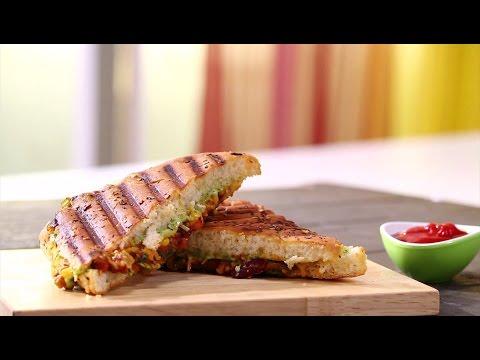 Panini Sandwich In Gujarati | Snacky Ideas by Amisha Doshi | Sanjeev Kapoor Khazana