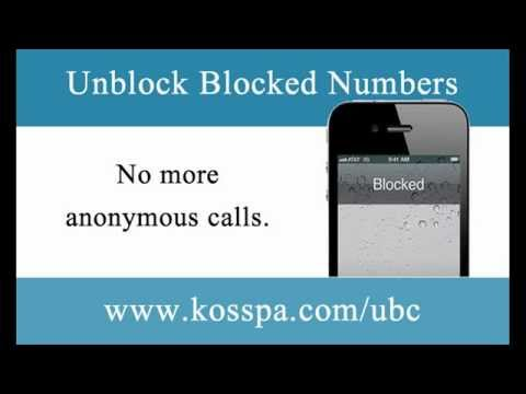 How To Find Out Blocked Numbers -- Call Back Restricted Numbers