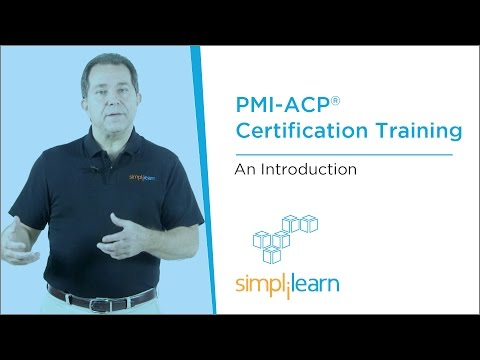 Introduction To  PMI-ACP® (Agile Certified Practitioner) Training   Simplilearn