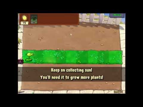 Plants Vs Zombies Lv 1-1