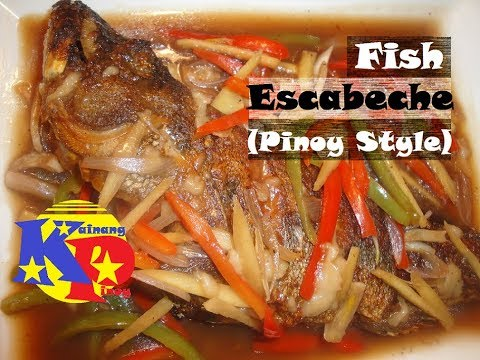 Fish Escabeche (Pinoy Style) - See Ingredients with Measurements in the Video Description.