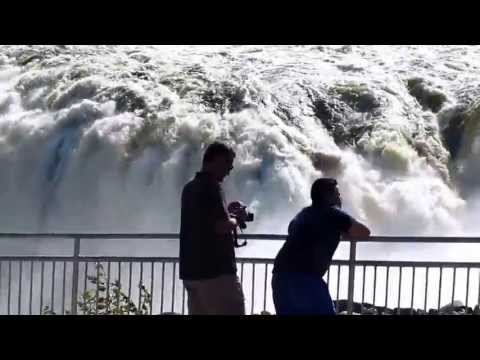 Waterfall at Grand Falls, Grand-Sault, New Brunswick