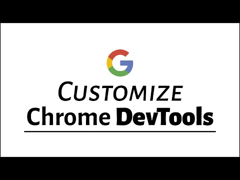 How to Customize Google Chrome DevTools Theme (darker background)