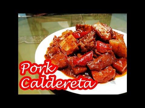 PORK CALDERETA!!!