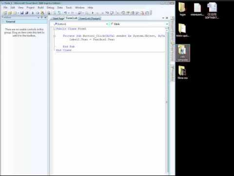 explain How To create a Visual basic Dll file(Part1)