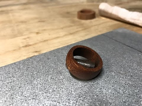 How to Make a Wooden Ring