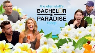 Krystal Nielson & Chris Randone Spill The Tea In The Ellen Staff's