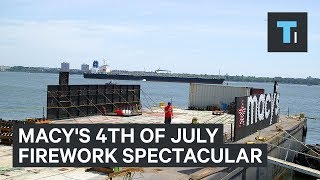 macys will set off 60000 fireworks this 4th of july heres how they set it all up