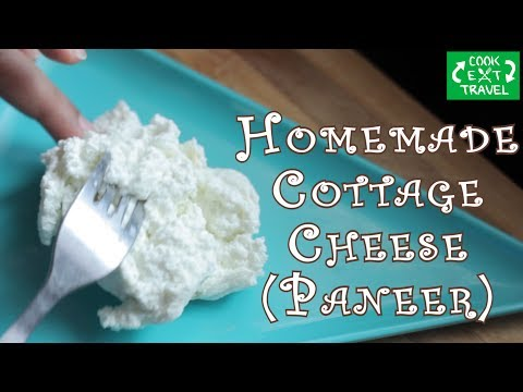 Homemade cottage cheese   Quick & Simple   Benefits of Milk Whey(leftover water)  