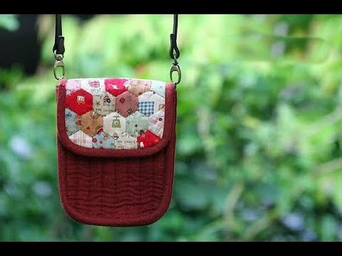 Shine Sewing Tutorial Patchwork and Quilted Purse