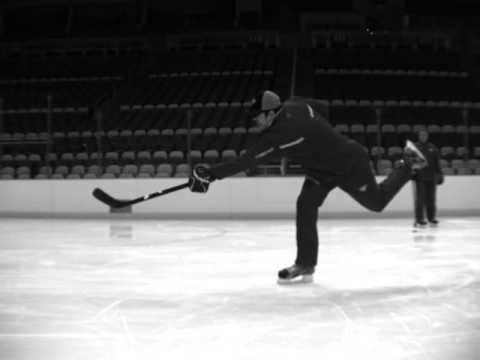 Evgeni Malkin Base Hockey Stick Demo - Wrist, Snap, and Slap shots