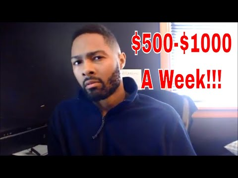 How To Make $500-$1000 a Week As A Freelancer!! New  Training...
