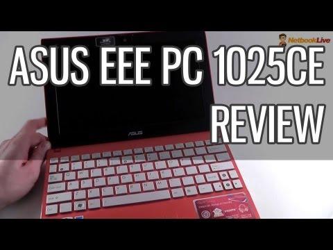 Asus EEE PC 1025CE review - Intel Atom N2800 - Best Asus netbook for 2012