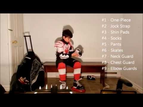 How To Put On Your Hockey Equipment