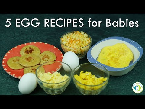 How and When to give Eggs to Baby? With 5 Egg recipes for Babies | Homemade Indian Baby Food