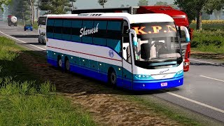 🔴 Volvo Bus Driver met wit Accident | Orange Travels Mod in
