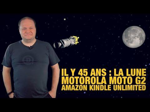 #freshnews 698 Apollo 11. Motorola Moto G2. Amazon Kindle Unlimited