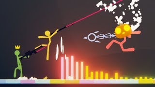 SOUND Wave BOSS DOMINATES! - HUGE NEW BOSS FIGHT UPDATE! - Stick Fight Gameplay