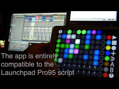 Launch Buttons Plus - Android / iPhone / iPad MIDI Controller for Ableton Live