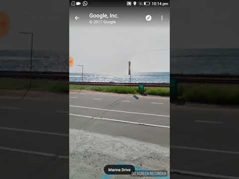 How to see the live view in Google map