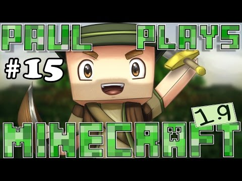 Paul Plays Minecraft 1.9 - E15 - Gone Fishing! (Minecraft Survival)
