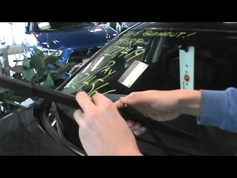 How to change Wiper Blades on a Mazda