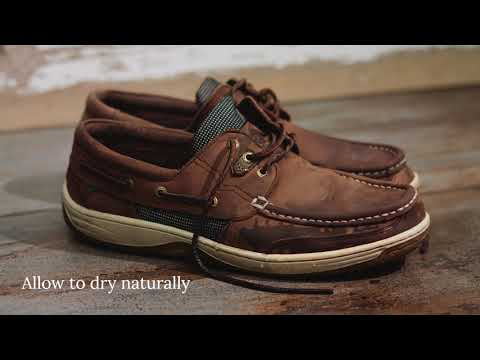 How to clean your Dubarry Deck Shoes