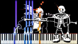 Disbelief Papyrus // Final Chance (Phase 4) // Duet Piano [LyricWulf