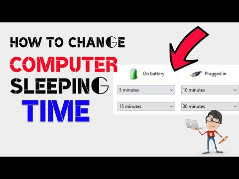 How to Change your Computer Sleeping Time? How to Increase/Decrease Sleeping Time?