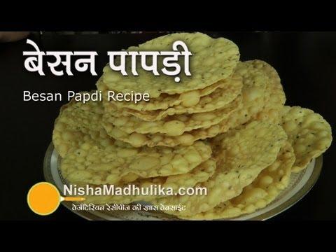 Besan Papad Recipe -  Papads from Gram Flour