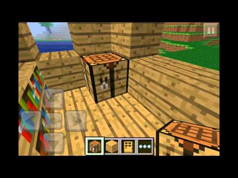 Minecraft pocket edition episode 18 how to make a shop