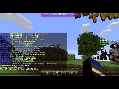Minecraft Fly Hacker Caught On Tape? MinePlex