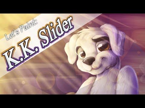 Let's Paint: K.K. Slider