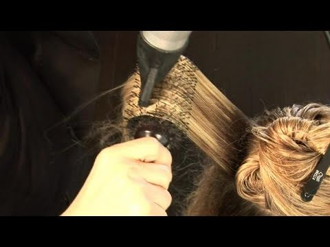 How To Use A Round Brush To Curl Your Hair