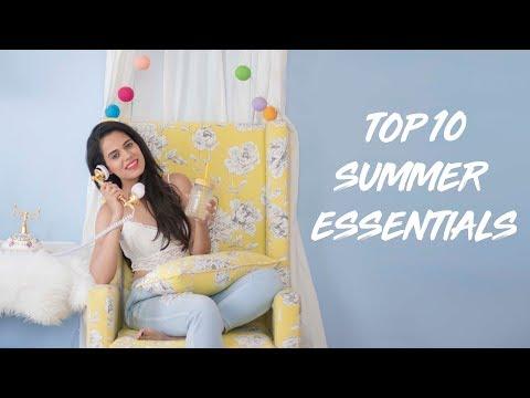 TOP 10 SUMMER ESSENTIALS