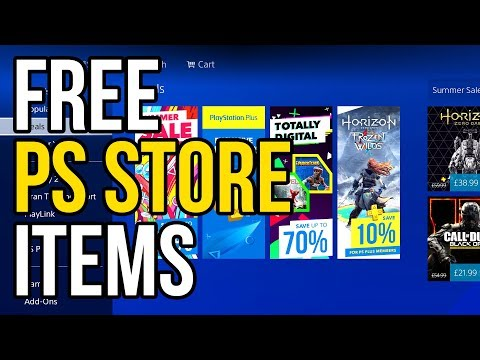 HOW TO GET FREE PS STORE ITEMS WITHOUT PAYING TRICK (ps4 Secrets)