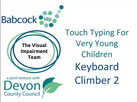 Touch Typing For Very Young Children- Keyboard Climber 2