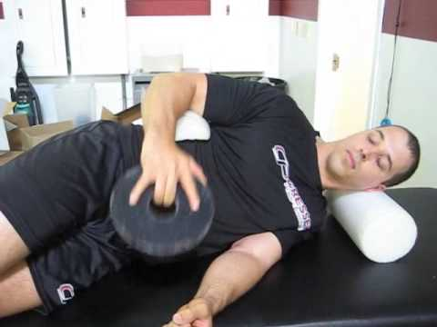 Side-Lying External Rotation - 30 Degress Abduction