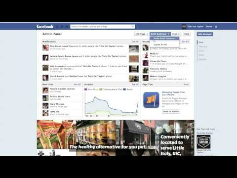 Inviting Email Contacts to your Facebook Page