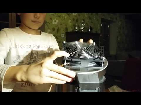 Self made Active Carbon air filter by Max Lodman 10 y engineer. Part 1