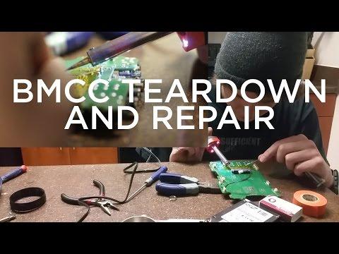 Blackmagic Cinema Camera Teardown and Repair