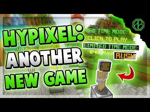 BRAND NEW HYPIXEL GAMEMODE